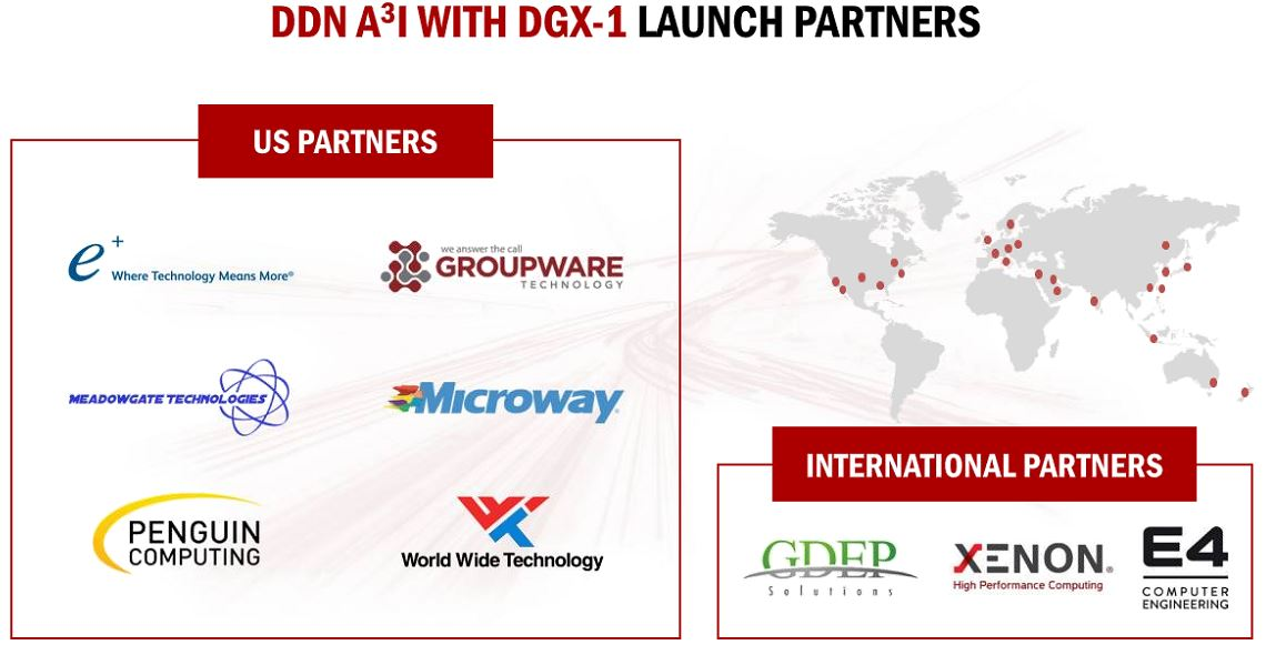 DDN A3I With DGX 1 Launch Partners