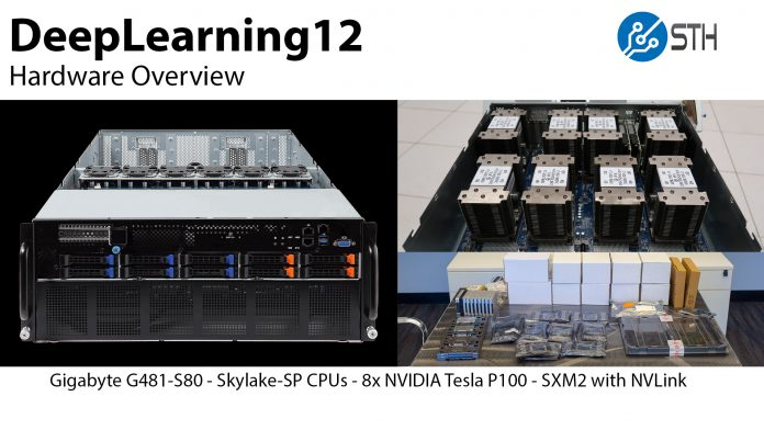 DeepLearning12 Hardware Overview Title