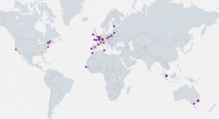 OVH Cloud Locations