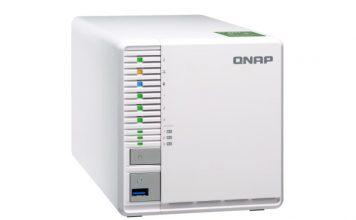 QNAP TS 332X Front Three Quarters