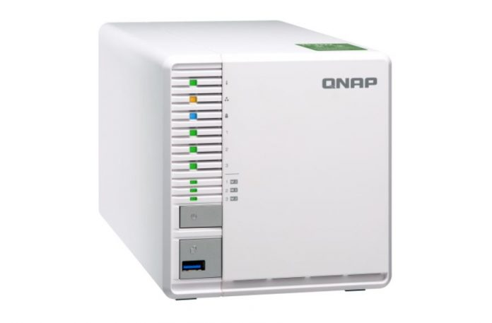 QNAP TS 332X Front Three Quarters