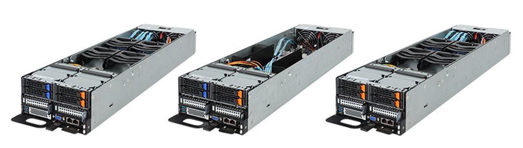 Gigabyte T022 C20 T022 C21 T022 C22 Compute Nodes