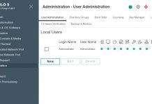 HPE ILO5 User Administration