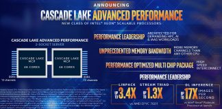 Intel Cascade Lake AP Overview 2018 11 04