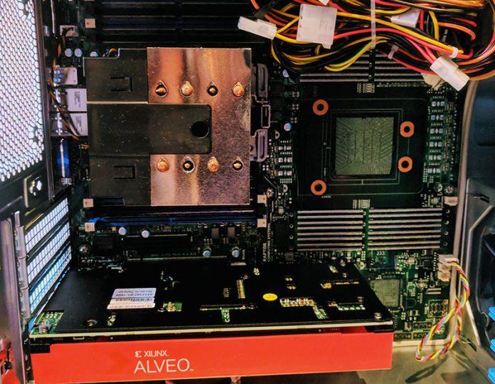 Raptor Systems Talos II Lite With Xilinx Alveo Cover