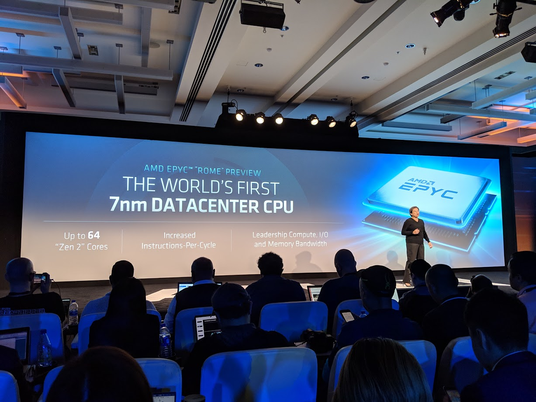 AMD EPYC 2 Rome 64 Core Specs