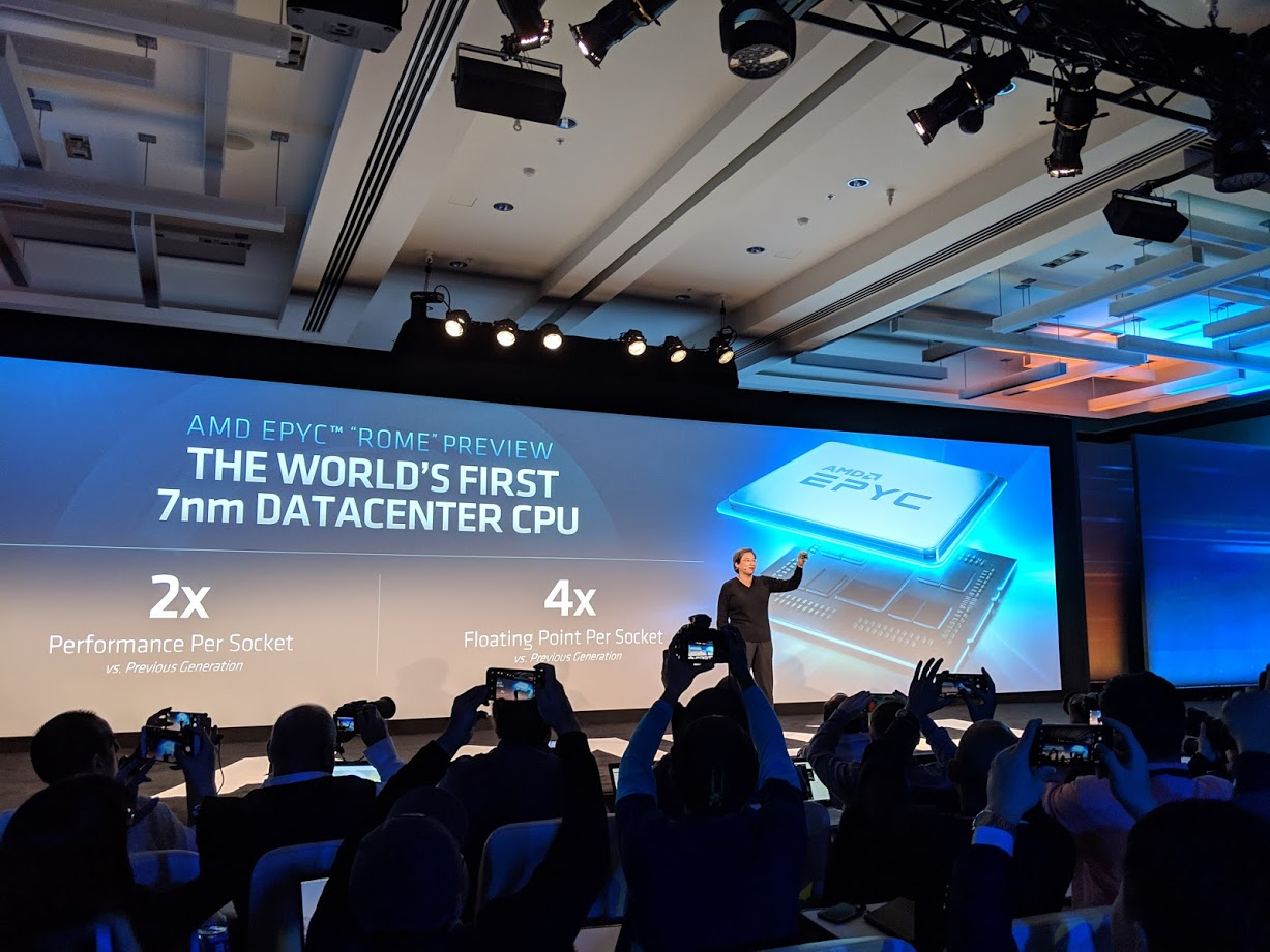 AMD EPYC 2x Performance Per Socket And 4x For Double Precision