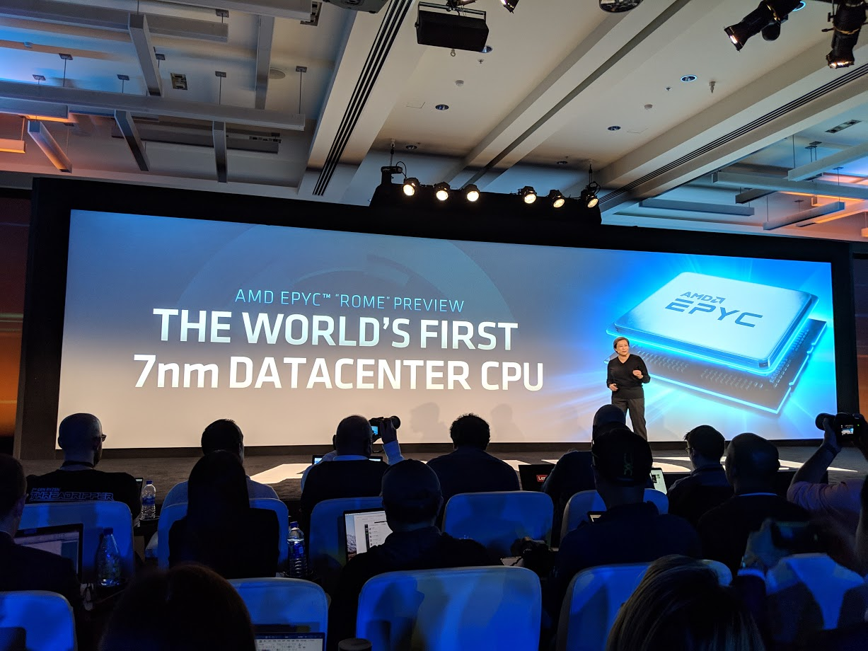AMD EPYC Rome Preview 2