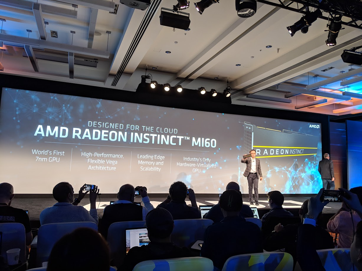 AMD Radeon Instinct MI60 For The Data Center