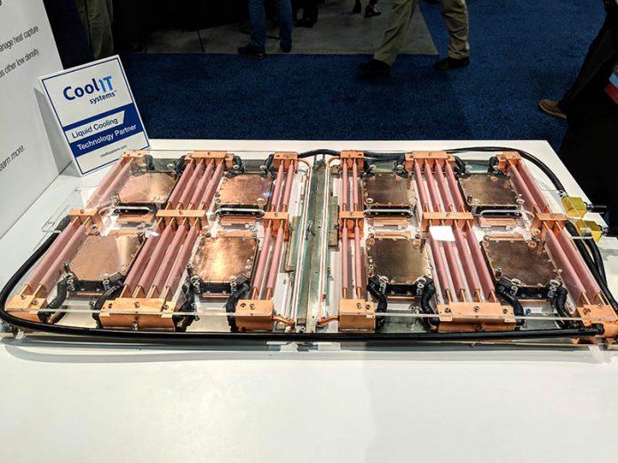 Cray Shasta CoolIT Liquid Cooling