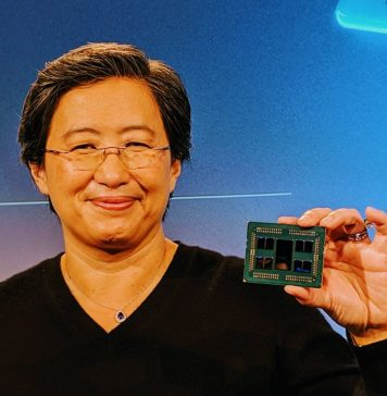 Dr Lisa Su Unvelis AMD EPYC 2 Rome Package