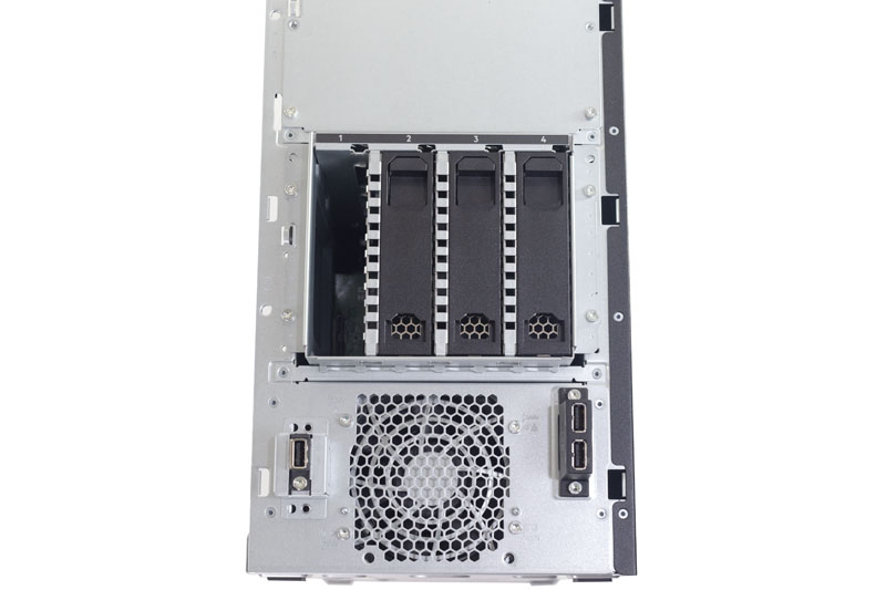 HPE ProLiant ML110 Gen10 4 Bay Hot Swap Cage