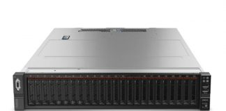 Lenovo ThinkSystem SR650 Front