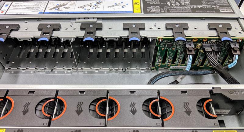 Lenovo ThinkSystem SR650 Front Modular Bays