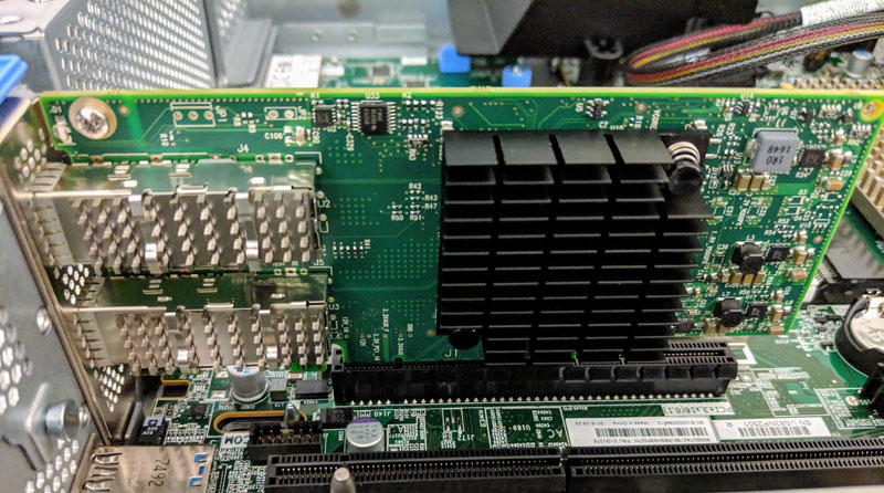Lenovo ThinkSystem SR650 Mellanox ConnectX 4 Lx LP