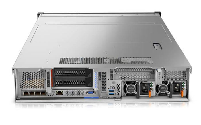 Lenovo ThinkSystem SR650 Rear With Options