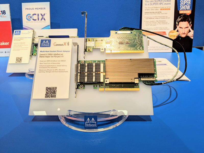 Mellanox ConnectX 6 Multi Host Socket Direct Adapter