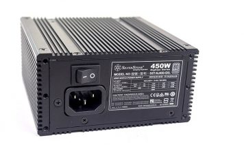 SilverStone Nightjar NJ450 SXL Power Input And Switch