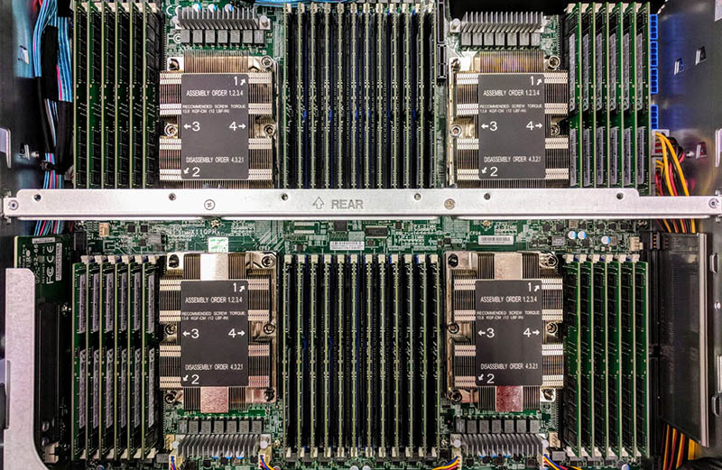 Supermicro 2U Intel Xeon Scalable 4P Server With 48x 32GB DIMMs