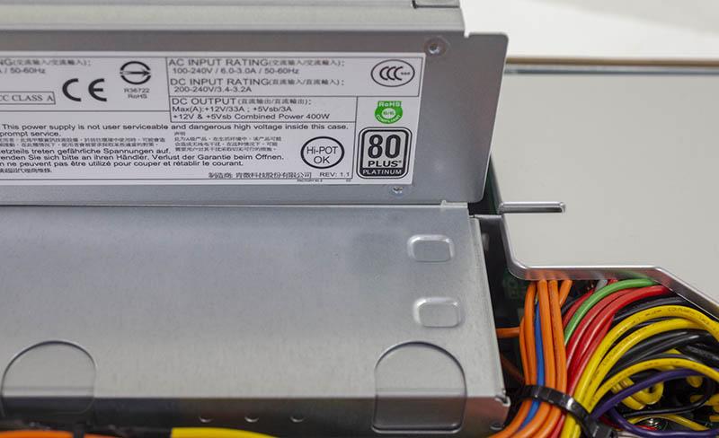Supermicro SYS 5019C MR 80Plus Platinum PSUs