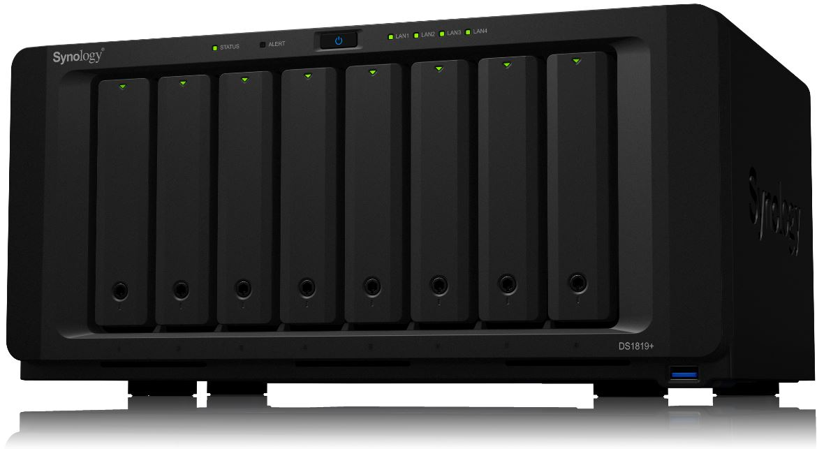 Synology DS1819 Plus Front