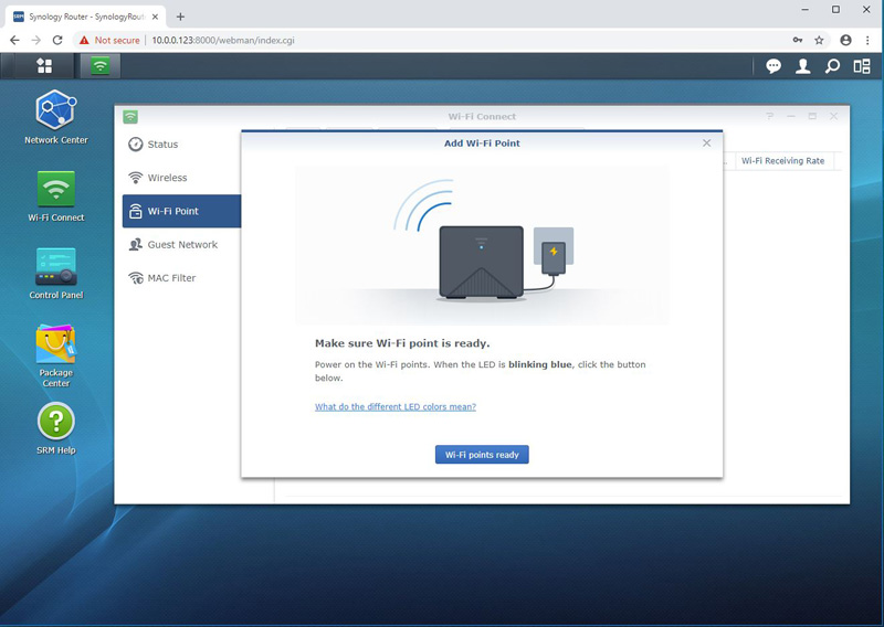 Synology MR2200ac Add Wi Fi Point 2