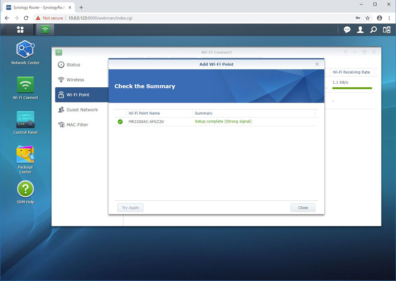 Synology MR2200ac Add Wi Fi Point 4