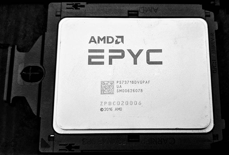 AMD EPYC 7371 Pricing Update An Insane Value