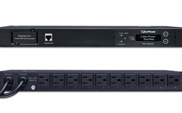CyberPower PDU15M10AT ATS Front And Rear