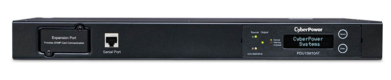 CyberPower PDU15M10AT ATS Rear