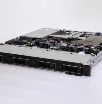 Dell EMC PowerEdge R340 Front Top Cover Open