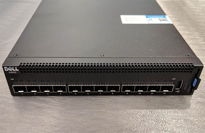 Dell X4012 Front Cover Ports