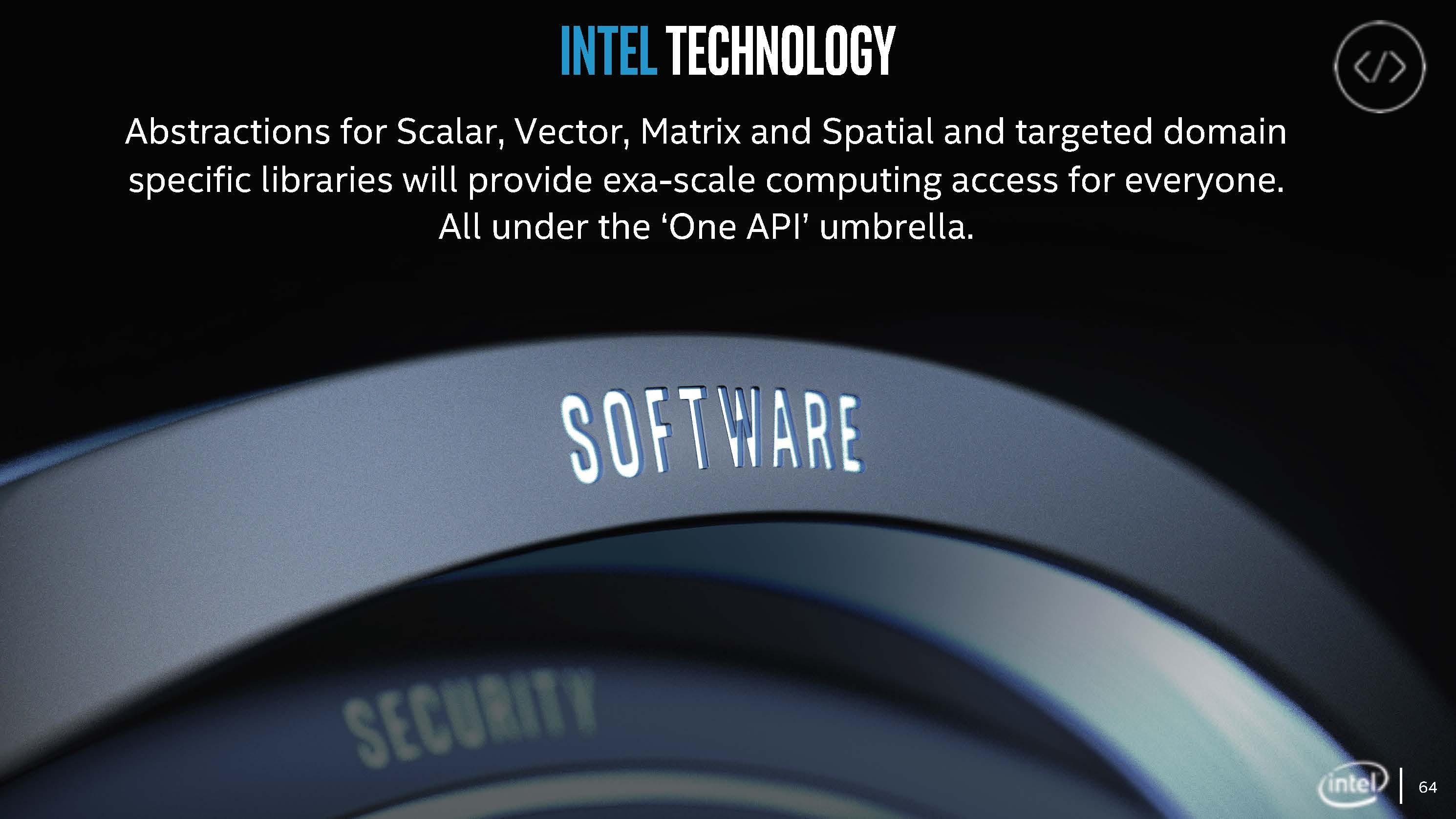 Intel One API Vision