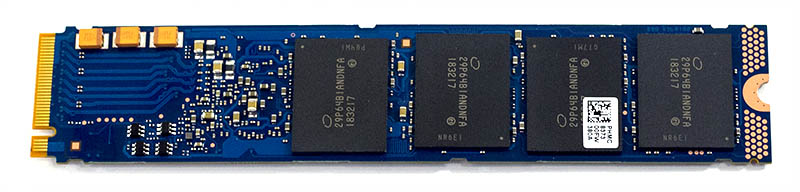 Intel Optane 905P 380GB M.2 NVMe Bottom