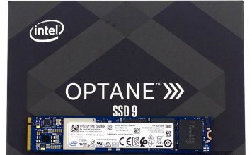 Intel Optane 905P 380GB M.2 NVMe On Box Cover