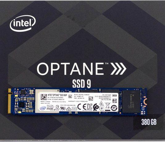 Intel Optane 905P 380GB M.2 NVMe On Box Cover