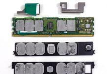 Intel Optane DC Persistent Memory Green DRAM Side