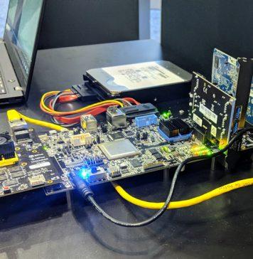 WD 14TB NAS Using Microsemi PolarFire