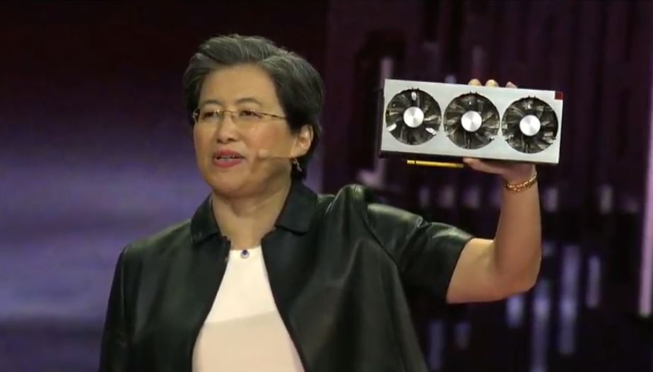 AMD Dr Lisa Su CES 2019 Keynote AMD Radeon 7 With Lisa