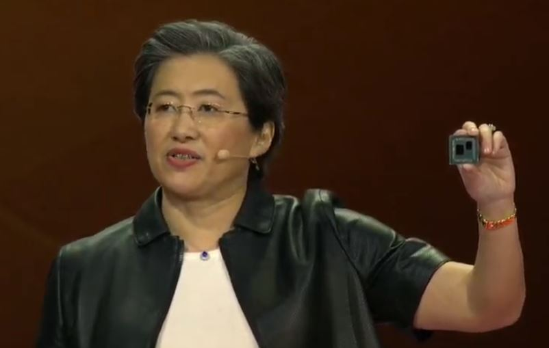 AMD Dr Lisa Su CES 2019 Keynote AMD Ryzen Under The Hood IO Die For PCIe Gen4