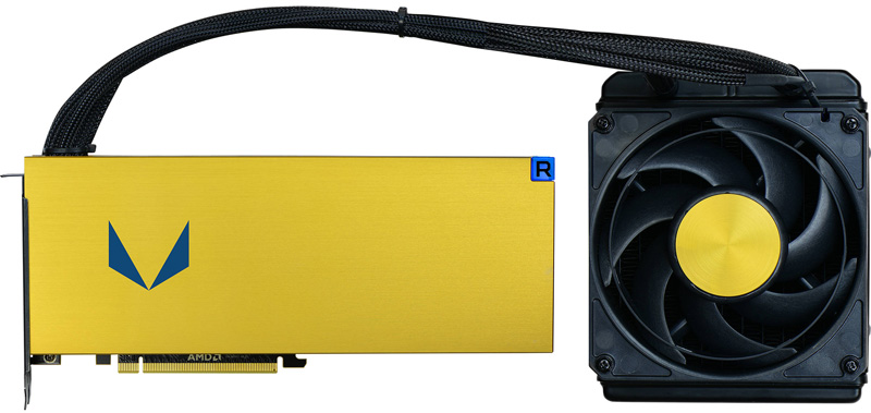 AMD Radeon Vega Frontier AIO Water CooledEdition