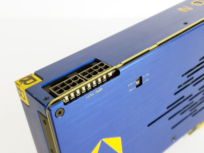 AMD Radeon Vega Frontier Edition Power Connections