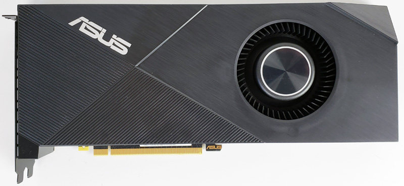 ASUS Turbo RTX2080 8G Front
