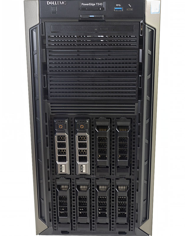 Dell EMC PowerEdge T340 Front Drive Bays