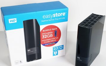 Easystore WD 10TB USB Desktop Backup