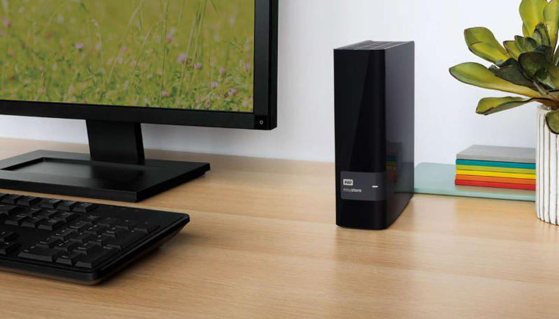Easystore WD 10TB USB Desktop Display