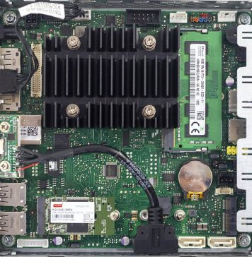 Fujitsu D3544 S Internal Overview Configured