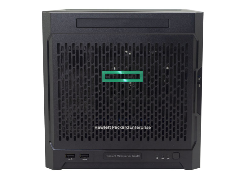 HPE ProLiant MicroServer Gen10 BIOS Main