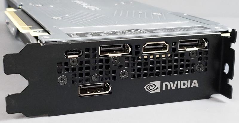 NVIDIA RTX 2080 Ti Outputs