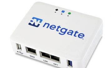 Netgate SG 1100 Three Quarters Top